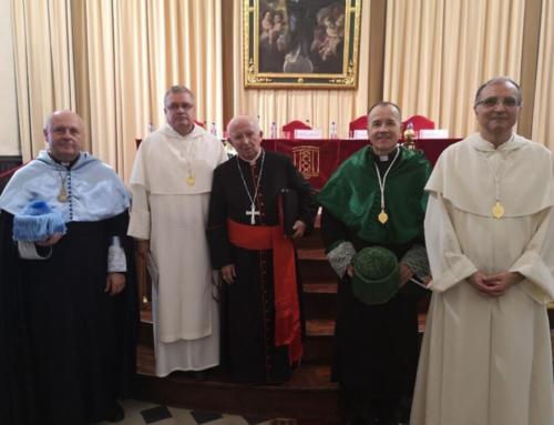 El Cardenal Cañizares preside la apertura de curso de la Facultad y pide su colaboración para el Sínodo Diocesano