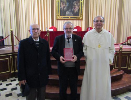 Fr. Alfonso Esponera presenta «Jalones para una historia del pensamiento cristiano en Valencia»