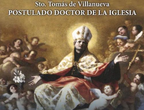 Visita la exposición 'Santo Tomás de Villanueva, postulado doctor de la Iglesia', del 2 al 13 de diciembre