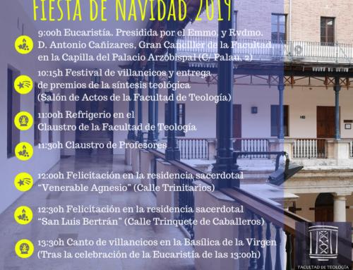 El viernes 20 de diciembre, Fiesta de Navidad en la Facultad de Teología