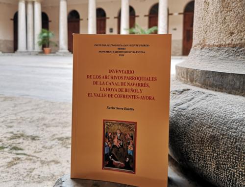 El último Inventario de Archivos Parroquiales cataloga y digitaliza un sermonario de san Vicente Ferrer que se conserva en Ayora