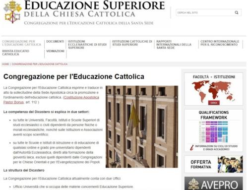 La Congregación para la Educación Católica aprueba los nuevos Estatutos de la Facultad de Teología de Valencia