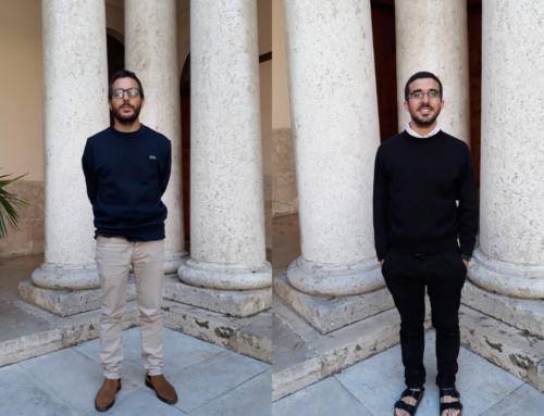 Fernando Fayos y Jesús Escrig, Delegado y Subdelegado de alumnos