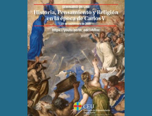 Miguel Navarro y Alfonso Esponera participarán en un seminario online sobre la época de Carlos V