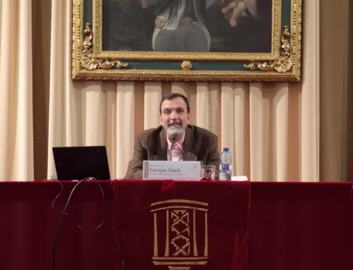 Enrique Lluch abre la Formación Permanente con una conferencia sobre el cambio de paradigma económico