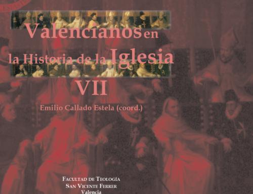 La Facultad publica «Valencianos en la Historia de la Iglesia VII»