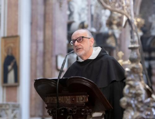 José Antonio Heredia en la fiesta de san Vicente Ferrer:  «La muerte no es solución para el que sufre el dolor o la enfermedad»