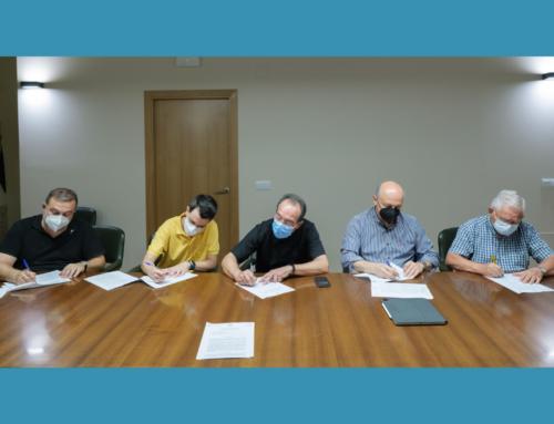 La Facultad firma el acuerdo de coordinación y uso de la nueva sede en el Centro san Francisco de Borja