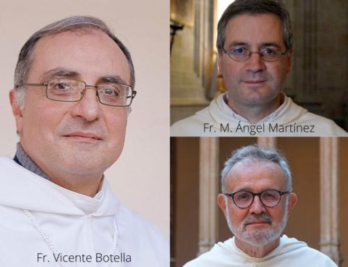 Tres profesores de la Facultad, propuestos como Maestros en Sagrada Teología por la Orden de Predicadores
