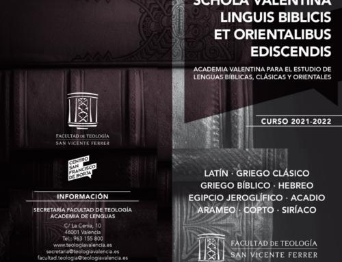 La Academia de Lenguas Bíblicas, Clásicas y Orientales arrancará un nuevo curso el 6 de octubre